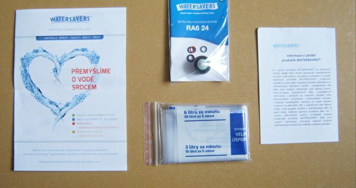 Šetřič na vodovodní baterie RA6 24 obsah balení