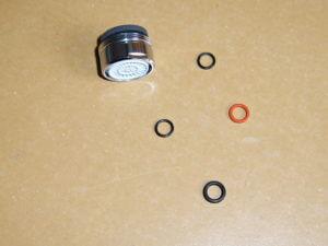 Šetřič na vodovodní baterie RA6 24 výtoková část