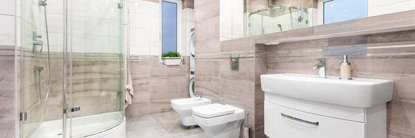 Šetřič vody najde využití v celé koupelně